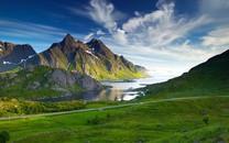 北欧唯美自然风光桌面壁纸