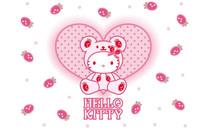 Hello Kitty高清桌面壁纸